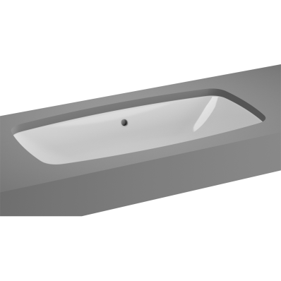 M-Line Undercounter Washbasin, No Overflow Hole, 77 cm