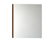56740 - Mirror Cabinet, Classic, 60 cm, Walnut Left