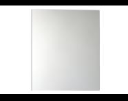 56741 - Mirror Cabinet, Classic, 60 cm, White Left