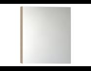56743 - Mirror Cabinet, Classic, 60 cm, Oak Left