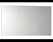 56756 - Mirror Cabinet, Classic, 120 cm, White