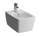 5675B003-0288 - Metropole Wall-Hung Bidet without Side Holes, with Single Tap Hol