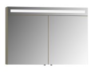 56784 - Mirror Cabinet, Elite, 100 cm, Metallic Mink