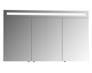 56790 - Mirror Cabinet, Elite, 120 cm, White High Gloss