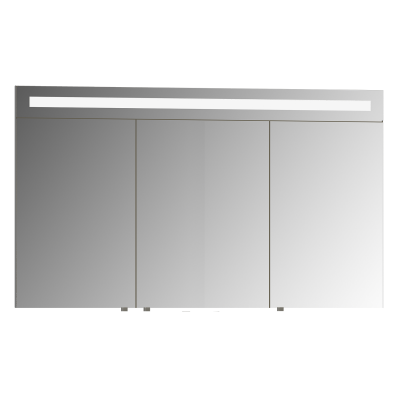 Mirror Cabinet, Elite, 120 cm, White High Gloss