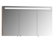 56792 - Mirror Cabinet, Elite, 120 cm, Grey Oak