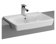 5679B003-0001 - Metropole Recessed Basin with Middle Tap Hole, with Side Holes