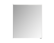 56810 - Mirror Cabinet, Premium, 60 cm, White High Gloss Left