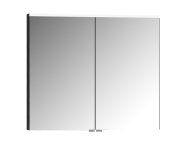 56822 - Mirror Cabinet, Premium, 80 cm, Anthracite High Gloss