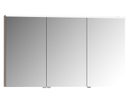 56842 - Mirror Cabinet, Premium, 120 cm, Grey Oak