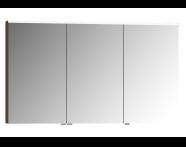 56845 - Mirror Cabinet, Premium, 120 cm, Dark Oak