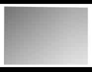 56853 - Mirror, Classic Metal, 100 cm