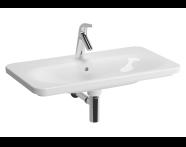 5686B003-7201 - Nest Vanity Washbasin 80cm with LED lighting