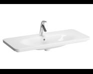 5687B003-7200 - Nest Vanity Washbasin 100cm with LED lighting