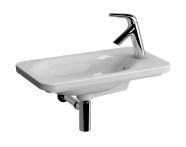5689B003H0029 - Nest Trendy Compact Basin, 60x35 cm, Right with Tap Hole, with Side Holes