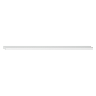 Shelf, 100 cm, White High Gloss