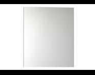 56983 - Mirror Cabinet, Classic, 60cm, White Right