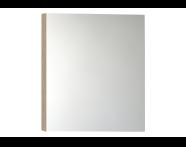 56985 - Mirror Cabinet, Classic, 60cm, Oak Right