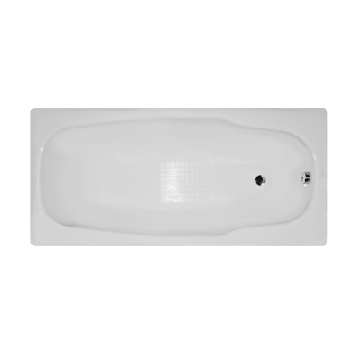 Stream 170x80 cm Steel Bathtub, 3.5  Mm, Sound Proofing Pad