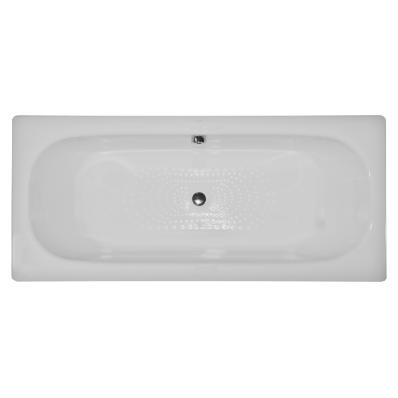 Generic Duo 170x75 cm Steel Bathtub, 3.5  Mm, Sound Proofing Pad