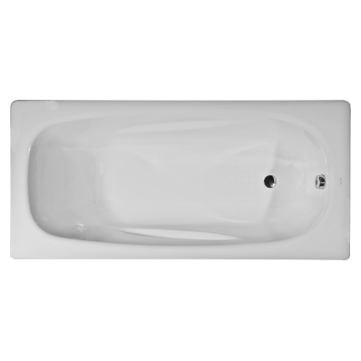 Generic Ergo 170x75 cm Steel Bathtub, 3.5  Mm, Sound Proofing Pad