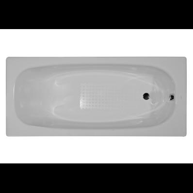 Generic 170x70 cm Steel Bathtub, 3.5  Mm, Sound Proofing Pad, Low Depth