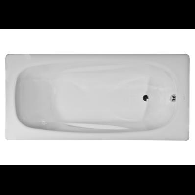 Generic Ergo 170x75 cm Steel Bathtub, 2.2  Mm, Sound Proofing Pad