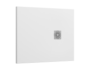 5701814 - Solidstone 100x80   Shower Tray White