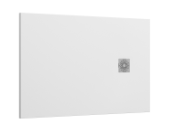 5701818 - Solidstone 140x90   Shower Tray White