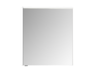 57076 - Mirror Cabinet, Premium, 60 cm, White High Gloss Right