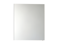 57081 - Mirror Cabinet, Classic, 60 cm, White High Gloss Left
