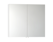 57084 - Mirror Cabinet, Classic, 100 cm, White High Gloss