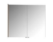 57088 - Mirror Cabinet, Premium, 80 cm, Golden Cherry