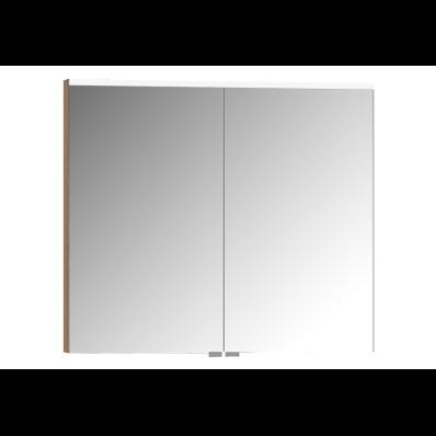 Mirror Cabinet, Premium, 80 cm, Golden Cherry