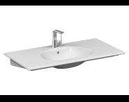 5709B420H0001 - Frame Vanity Basin, 100 cm, Matte Taupe