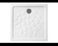 5730L003-0578 - Ocean Shower Tray, 80 cm