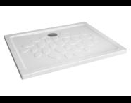 5732L003-0578 - Ocean Shower Tray, 100 cm