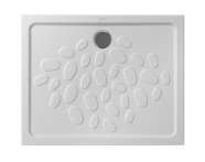 5732L359-0578 - Ocean Shower Tray, 100 cm, Antislip