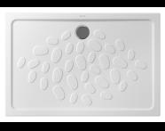 5733L003-0578 - Ocean Shower Tray, 120 cm
