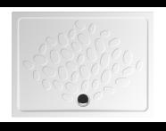 5734L003-0578 - Ocean Shower Tray, 120 cm