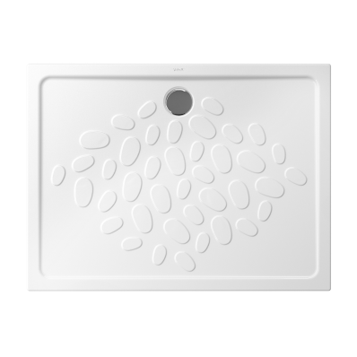 Ocean Shower Tray, 120 cm, Antislip