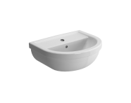 5750L003-0001 - Washbasin, 45 cm, One Tap Hole, With Overflow Hole