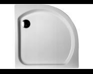 57700001000 - Harmony 80x80 cm Corner Monobloc