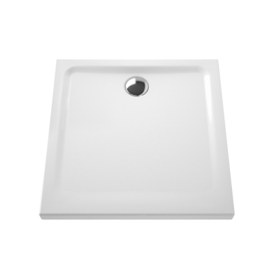 Arkitekt Square Shower Tray, Antislip, 80 cm