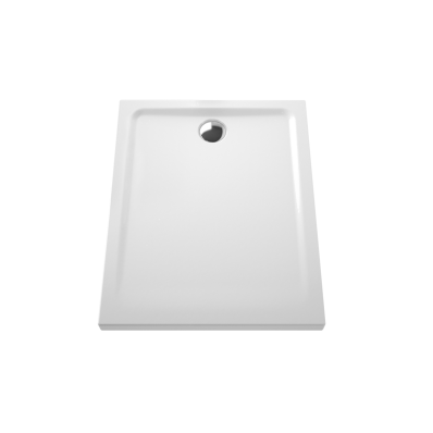 Arkitekt Rectangular Shower Tray, Antislip, 80 cm