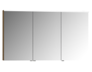 58111 - Mirror & Shelves Mirror Cabinet, Premium with LED lighting, 120cm