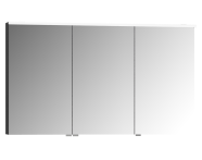 58116 - Mirror & Shelves Mirror Cabinet, Premium with LED lighting, 120cm
