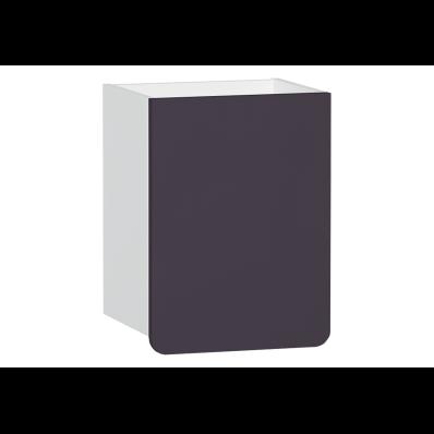 D-Light Side Unit, 40 cm, Matte White & Purple, Left