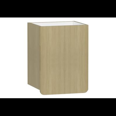 D-Light Side Unit, 40 cm, Natural Oak, Right