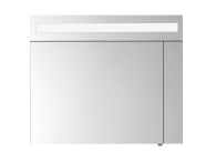 58172 - Elite Mirror Cabinet, 60 cm, Matte White, Left